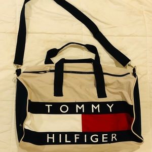 Vintage Tommy Hilfiger Sailing Duffle Bag Large